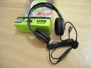 skype用USBヘッドセットにMM-HSUSB7BK購入