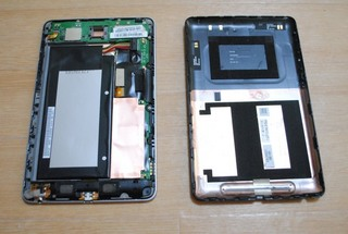 Nexus7の内部