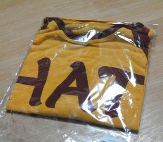 やわらか素材の5分丈ラグランTシャツ
