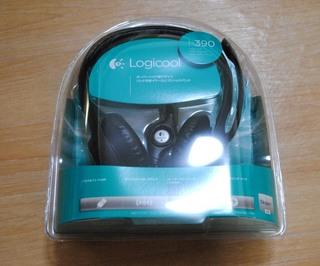 LOGICOOL USBヘッドセット H390箱